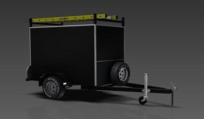 2.1m enclosed trailer plans www.trailerplans.com.au