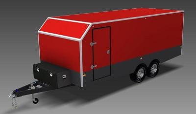 6m enclosed trailer plans www.trailerplans.com.au