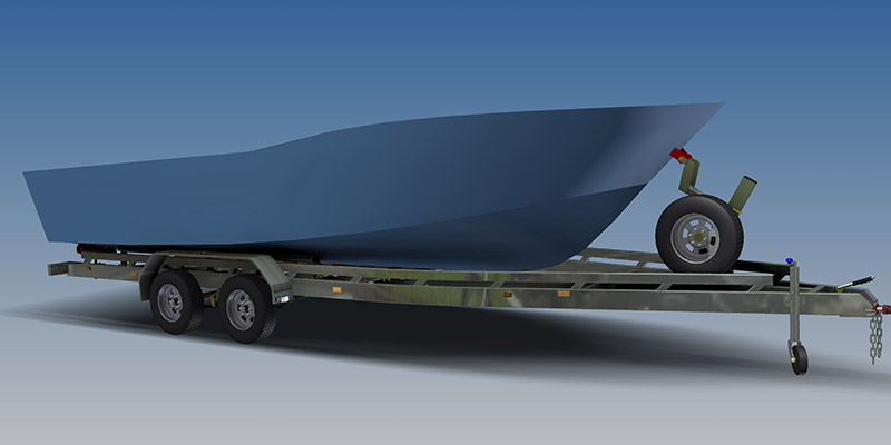boat trailer plans dinghy boat plans free utility trailer plans camp ...