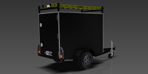 enclosed trailer plans www.trailerplans.com.au