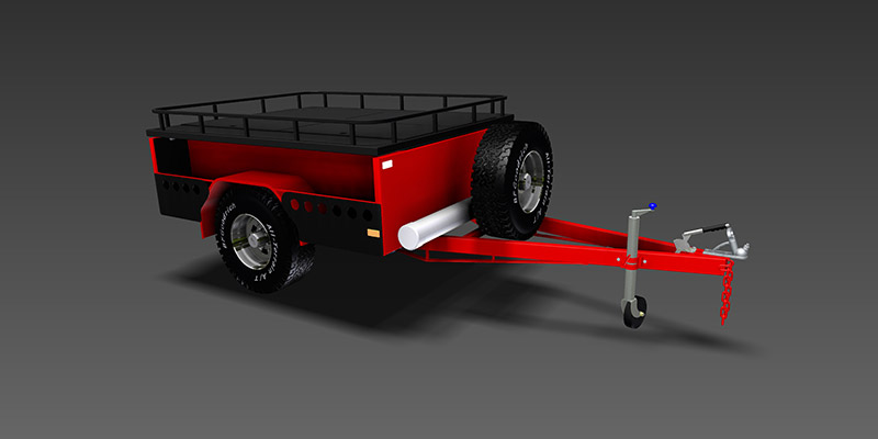 Off Road Camper Trailer - Trailer Plans