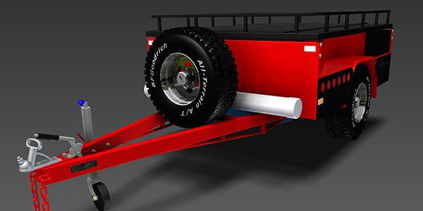 off road camper trailer plans www.trailerplans.com.au