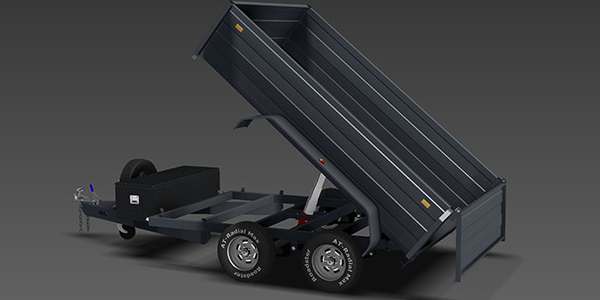 tipping trailer plan released   trailer plans