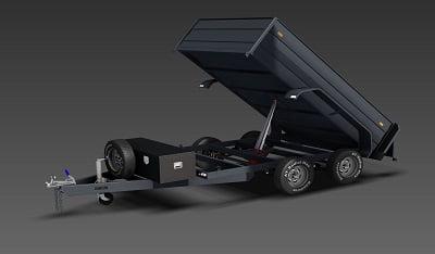 hydraulic tipping trailer plans www.trailerplans.com.au