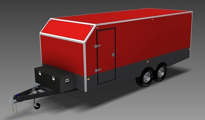 6m enclosed trailer plans www.trailerplans.com.au