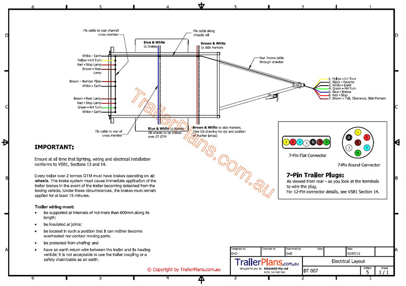 Motorbike trailer trailer plan electrical trailer wiring trailer plans trailerplans asfbconference2016 Image collections