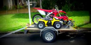 Trailer Build Motorbike Trailer www.trailerplans.com.au trailer plans