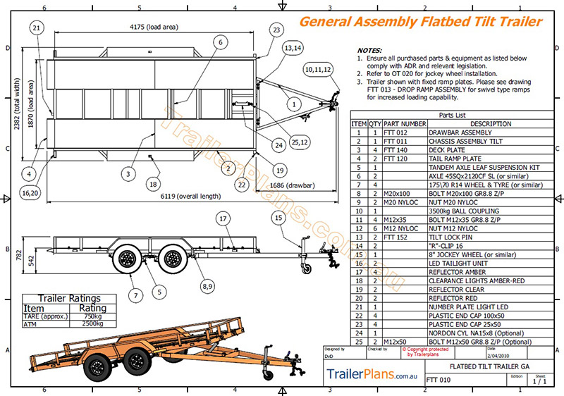 Flatbed tilt trailer trailer plans flatbed tilt trailer plans car carrier trailerplans malvernweather Gallery