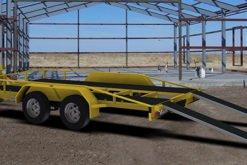 flatbed trailer plans car carrier www.trailerplans.com.au