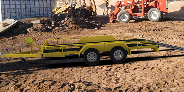 flatbed trailer plans car carrier www.trailerplans.com.au