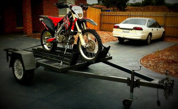 Motorbike Trailer Build Trailer Plans www.trailerplans.com.au