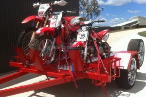 Trailer Plans Michaels Motorbike Trailer Build www.trailerplans.com.au