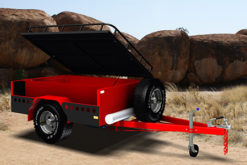 off road trailer camper trailer trailerplans.com.au