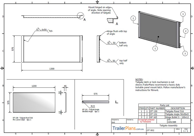 Off Road Camper Trailer Plans - plans, designs and drawings