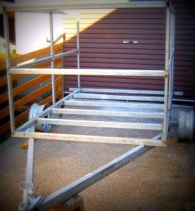 Cage Trailer Build Trailer Plans www.trailerplans.com.au