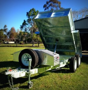 Anthonys Hydraulic Tipping Trailer