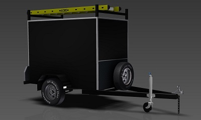 2.1m Enclosed Trailer plans www.trailerplans.com.au