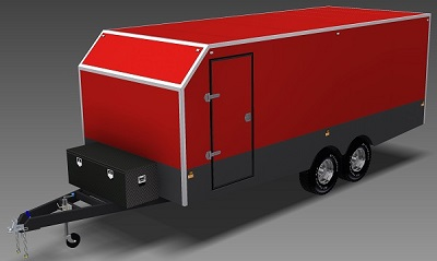 Trailer plans designs drawings for trailer construction 6m enclosed trailer plans trailerplans malvernweather Gallery