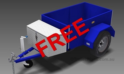 Free Box Trailer plans www.trailerplans.com.au