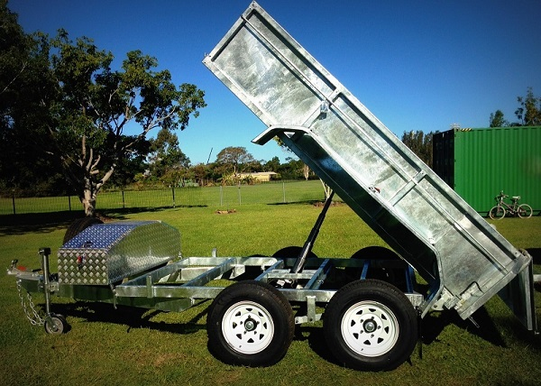 hydraulic tipping trailer plans www.trailerplans.com.au