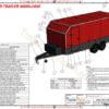 enclosed trailer plan car carrier www.trailerplans.com.au