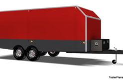 enclosed trailer plans car carrier www.trailerplans.com.au