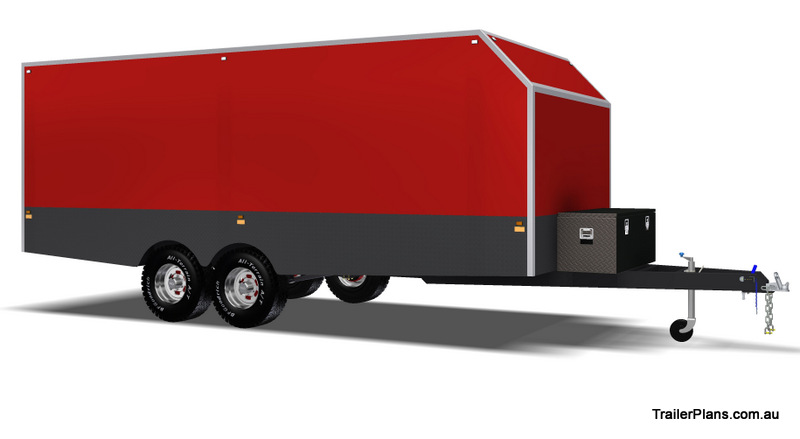 homemade enclosed trailer plans 6m enclosed trailer plan