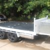 Tipping Toy Hauler Trailer Plans Trailer Build www.trailerplans.com.au