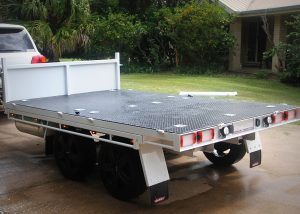 Tipping Toy Hauler Trailer Plans Trailer Build www.trailerplans.com.au