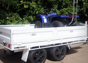 Toy Hauler Tipper Trailer Plans Trailer Build www.trailerplans.com.au