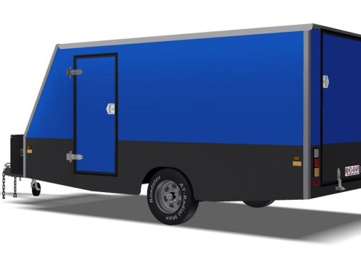 4m ENCLOSED MOTORBIKE TRAILER www.trailerplans.com.au