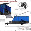 4m ENCLOSED MOTORBIKE TRAILER www.trailerplans.com.au