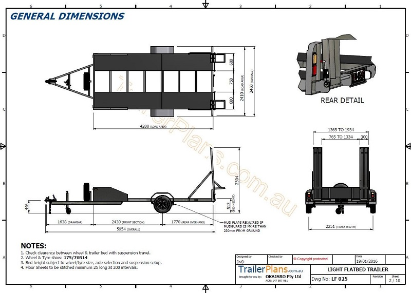 1693 Flatbed Trailer together with 1611 Cargo Utility Trailer additionally Atv Trailer Plans also Sailboat Trailer Plans Free additionally Single Axle Flatbed. on utility trailer ramp plans