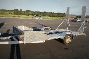 TRAILER PLANS 2200kg Single Axle Flatbed Trailer Build www.trailerplans.com.au