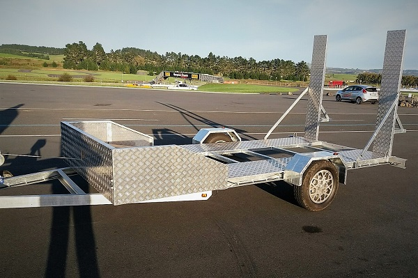 Rob's 2200kg Single Axle Flatbed Trailer Build