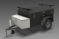 Luggage Trailer Plans www.trailerplans.com.au