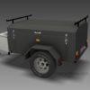 Luggage Trailer Plans www.trailerplans.com.au