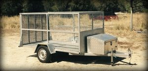 Chris' Cage Trailer www.trailerplans.com.au TRAILER PLANS