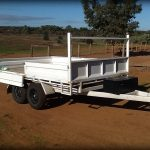 Darrens Flatbed Trailer www.trailerplans.com.au Trailer Plans