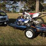 Kevins Motorbike Trailer www.trailerplans.com TRAILER PLANS