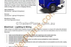 free trailer plan box trailer trailer plans www.trailerplans.com.au