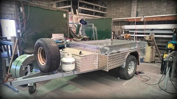 TRAILER PLANS Off Road Camper Trailer Build Trailerplansau