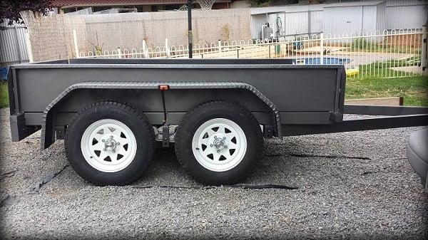 Trailer Fender Boxes : Homemade tandem trailer fenders ftempo