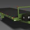 6m Flat Top Trailer Plans Flatbed Trailer Car Trailer www.trailerplans.com.au