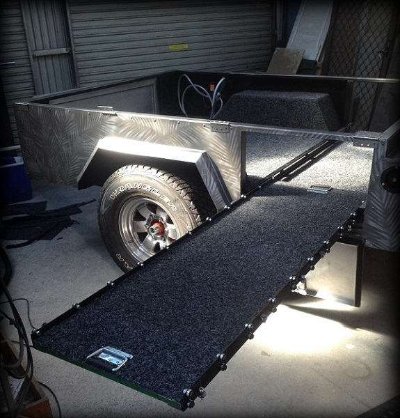 TRAILER PLANS Off Road Camper Trailer www.trailerplans.com.au