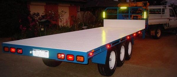 Tri Axle Flatbed : Clive mark s tri axle flatbed trailer plans