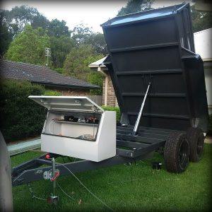 Trailer Plans Hydraulic Tipping Trailer www.trailerplans.com.au