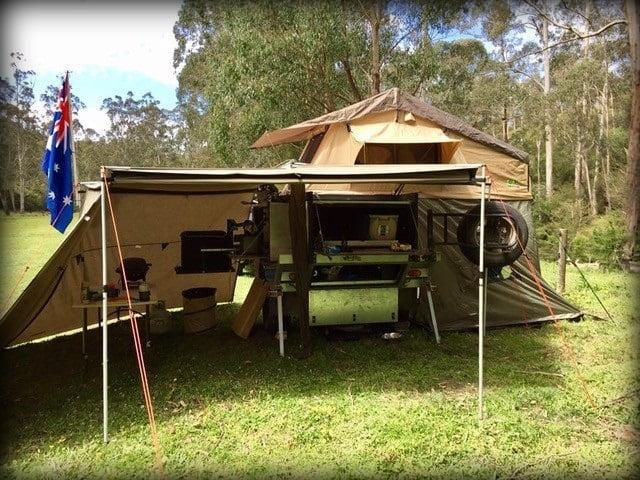 Jason's Off-Road Camper Trailer Build - Trailer Plans