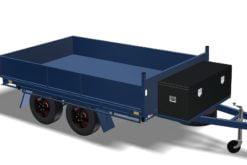 Toy Hauler Tipper Trailer Plans Flatbed Trailer Box Trailer Tipping Trailer www.trailerplans.com.au