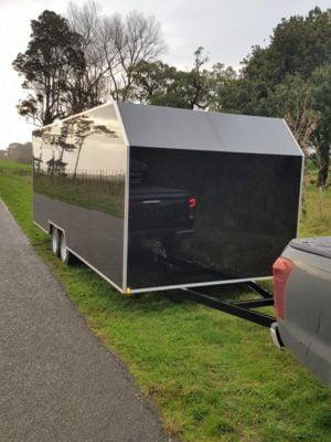 TRAILER PLANS 6m Enclosed Trailer Build www.trailerplans.com.au